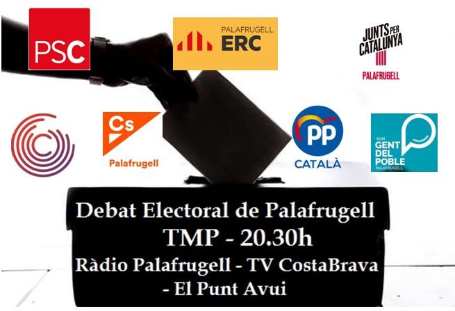 Debat Electoral de Palafrugell Eleccions Municipals 2019